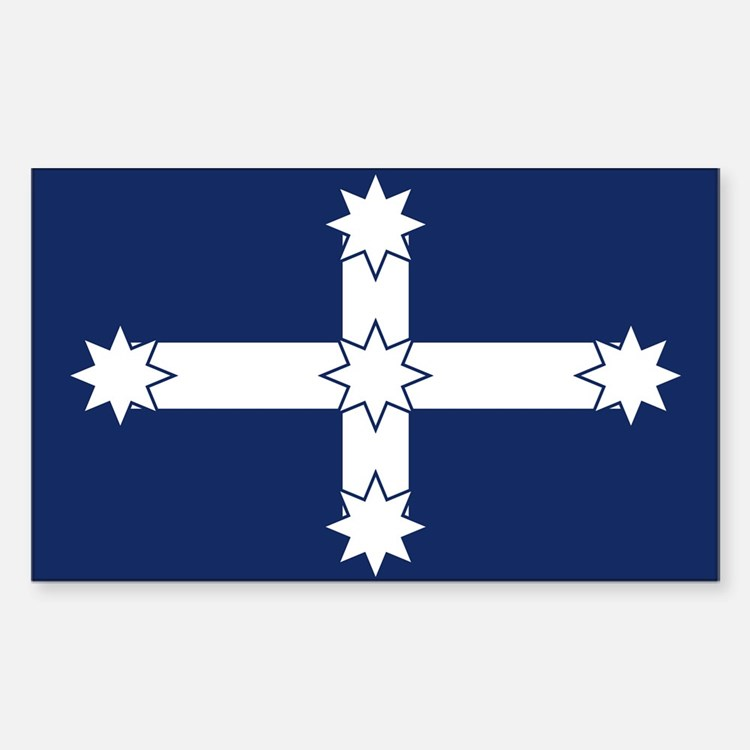 Eureka Flag Decal