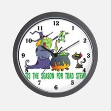 Crazy Witch Wall Clock