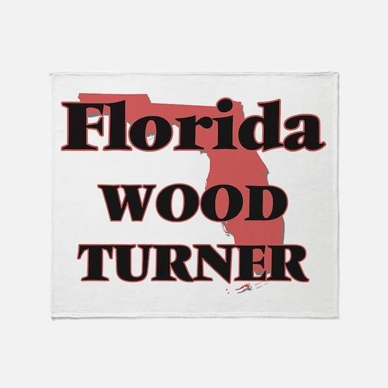Florida Wood Turner Throw Blanket