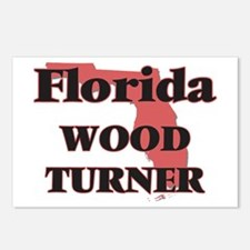 Florida Wood Turner Postcards (Package of 8)