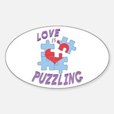 Love Is Puzzling Decal