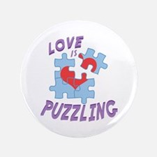Love Is Puzzling Button