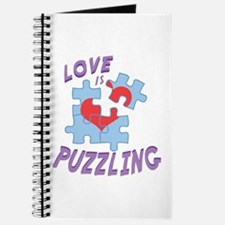 Love Is Puzzling Journal
