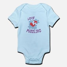 Love Is Puzzling Body Suit