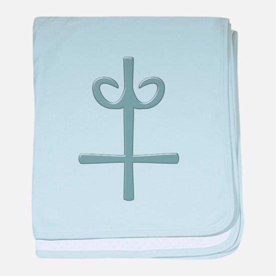 Symbol Alchemy Arsenic baby blanket