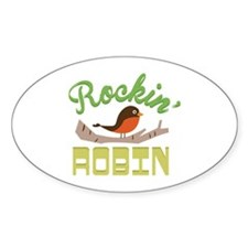 Rockin Robin Decal