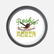 Rockin Robin Wall Clock
