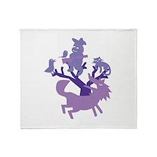 Peter & Wolf Throw Blanket