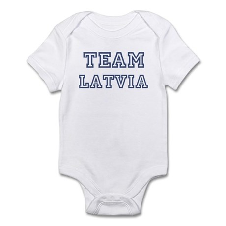 Team Latvia Infant Bodysuit