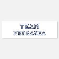 Team Nebraska Bumper Bumper Bumper Sticker