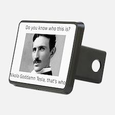 Nikola Goddamn Tesla Hitch Cover