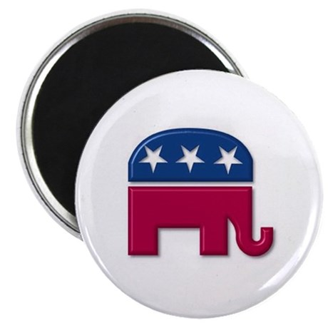 "Republican Elephant 2.25"" Magnet (10 pack)"