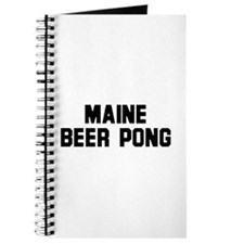 Maine Beer Pong Journal