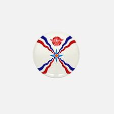 Flag of Assyria Mini Button