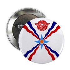 Flag of Assyria Button