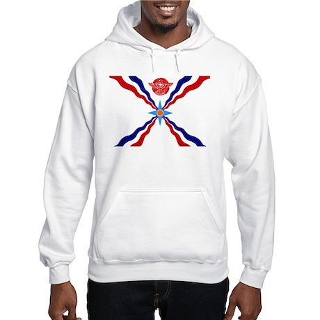 Flag of Assyria Hooded Sweatshirt