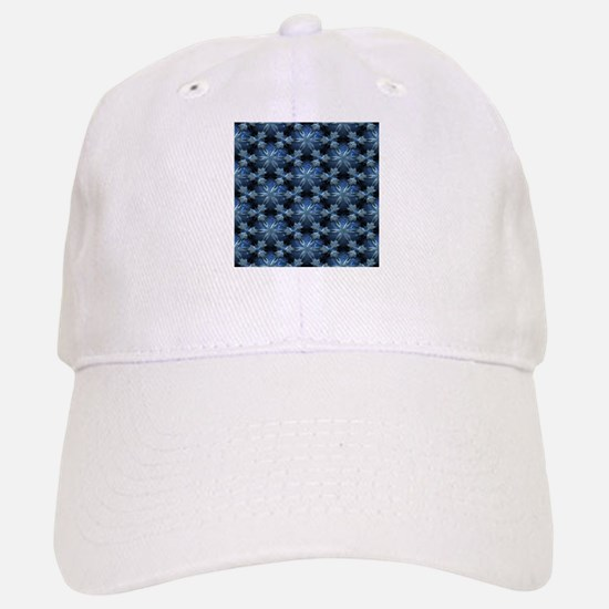 Relief Pattern blue Baseball Baseball Cap