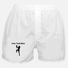 Womens Basketball Player Boxer Shorts