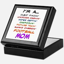 I'M A FOOTBALL MOM... Keepsake Box