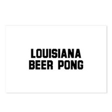Louisiana Beer Pong Postcards (Package of 8)