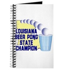 Louisiana Beer Pong State Cha Journal