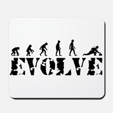 Curling Caveman Mousepad
