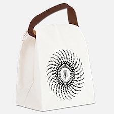 Disc Golf Basket Chains Canvas Lunch Bag