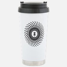 Disc Golf Basket Chains Travel Mug