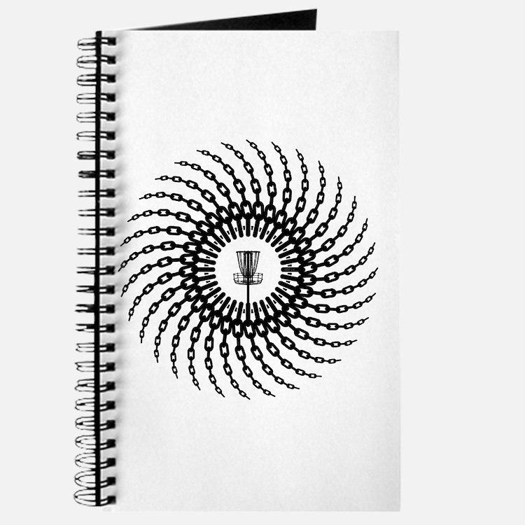 Disc Golf Basket Chains Journal