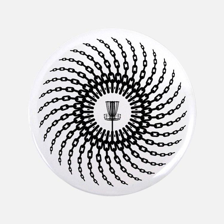 Disc Golf Basket Chains Button