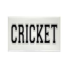 Cricket Rectangle Magnet