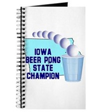 Iowa Beer Pong State Champion Journal