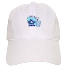 Iowa Beer Pong State Champion Baseball Cap