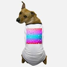 Hot Pink And Aqua Blue Gradient Water Dog T-Shirt