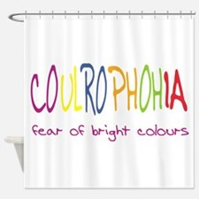 Fear of Colour Shower Curtain