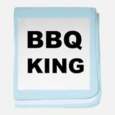 BBQ King baby blanket