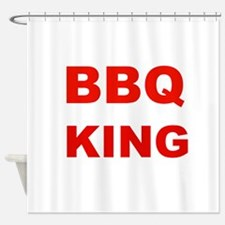 BBQ King Shower Curtain