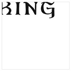 King text label saying Canvas Art