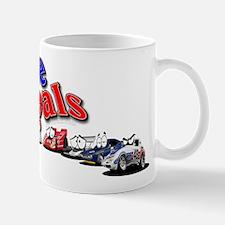 RacePals Racing Cartoon Characters Mugs