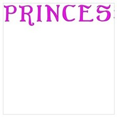 Princess text saying quote Canvas Art