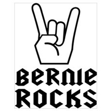Rock on Bernie! Poster