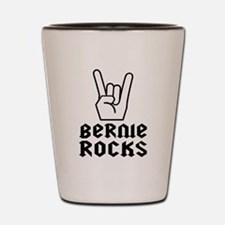 Rock on Bernie! Shot Glass
