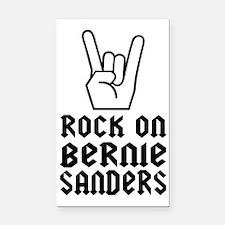 Bernie Rocks! Rectangle Car Magnet