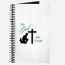 IN GOD WE TRUST Journal
