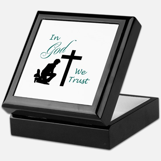 IN GOD WE TRUST Keepsake Box