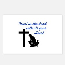 TRUST IN THE LORD Postcards (Package of 8)