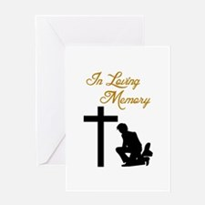 IN LOVING MEMORY Greeting Cards