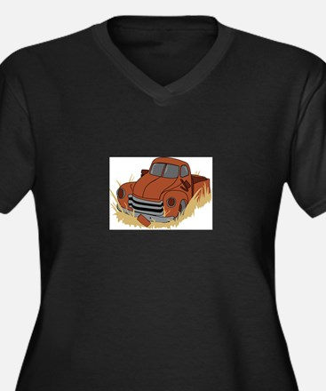 RUSTY TRUCK Plus Size T-Shirt