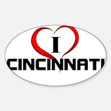 I <3 Cincinnati Fun Gear Decal