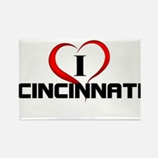 I <3 Cincinnati Fun Gear Magnets